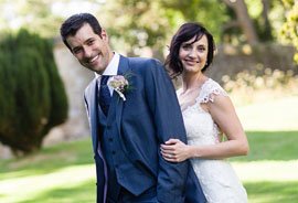 clare & martin wedding